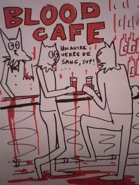 Blood cafe