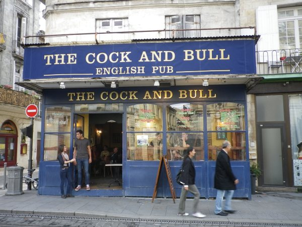 Cock and Bull Bordeaux