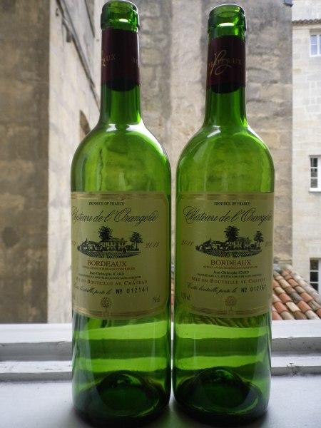Château de l'Orangerie 2011 Bordeaux