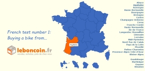 French test number 1 – Buying a bike fromLeboncoin