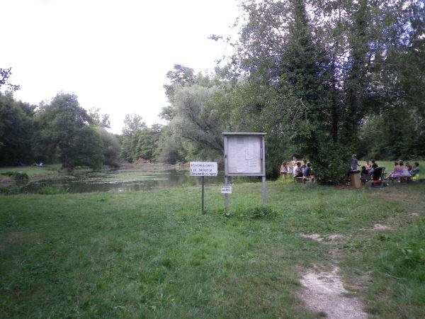 Picnic area near lignan