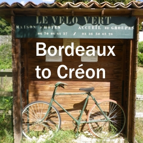 Bordeaux to Créon cycle path