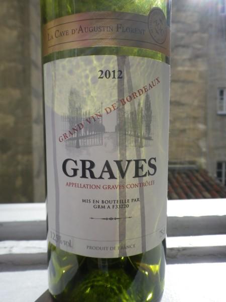2012 graves wine