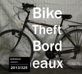 Bike theft in Bordeaux