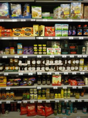 The 'Exotic' food section ofCarrefour