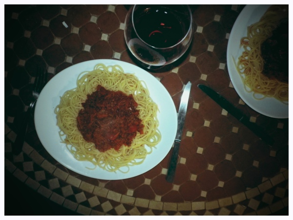 bolognese using bordeaux wine