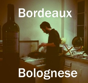 Spaghetti bolognese recipe using Bordeaux redwine