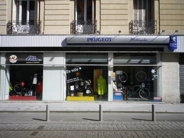 peugeot bike shop bordeaux