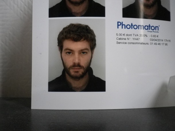 funny passport photo