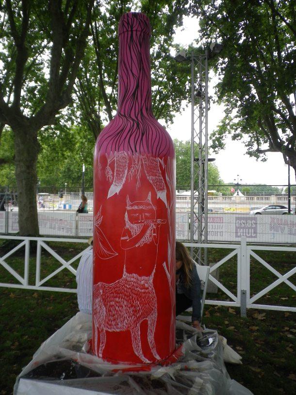 bordeaux fete le vin art garden