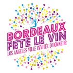 Bordeaux wine festival logo
