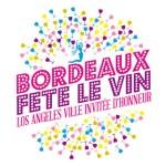 Bordeaux wine festival logo
