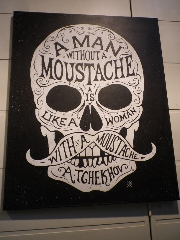 Chekhov quote moustache