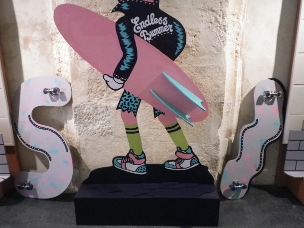 strange skate boards