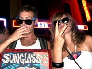 Christopher GJ Cooley sunglasses night V