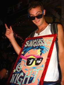 Christopher GJ Cooley sunglasses night