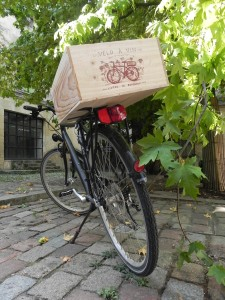 Velo a Vin wine boxes bordeaux