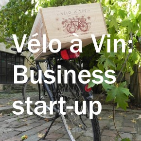 Idea for business start-up: marketing wine tocyclists