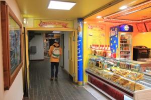 snackshop in hallway
