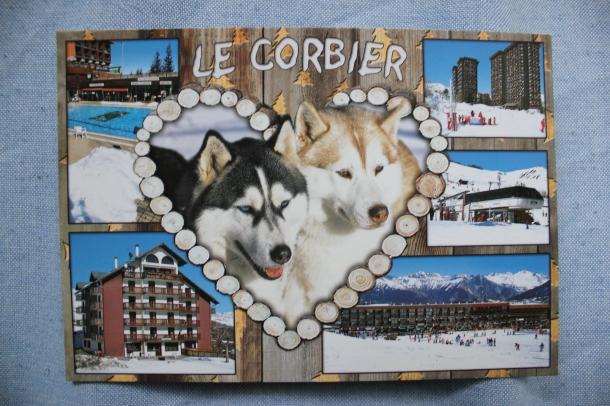postcard Le Corbier carte postal