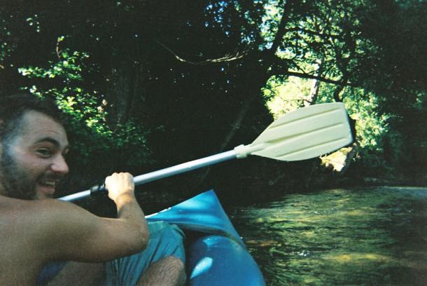 Kayak trip la nive 2015